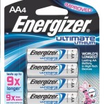 Energizer Ultimate Lithium 9x 4-pack