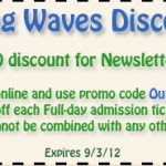 $3 Off Coupon at Raging Waves