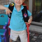 Wordless Wednesday: First Day of Kindergarten & Preschool