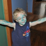 Wordless Wednesday: Is That A Smurf, Avatar, or Gavin?