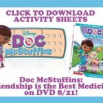 Printable Doc McStuffins Activity Sheets!