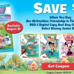 Save $6 off the new Doc McStuffins DVD