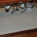 How to Fix Your Kitchen Sink Cabinet Floor