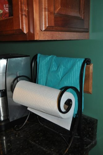 paper towel holder before 2