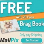 FREE 4×6 Brag Book!  {Just $2.99 shipping}