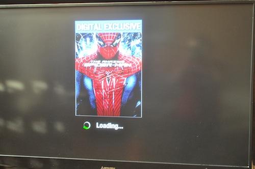 spiderman loading