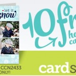 10 Free Holiday Cards from Cardstore! (Free S&H too!)