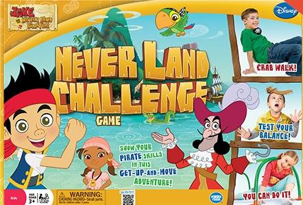 neverland challenge