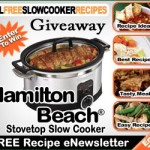 Hamilton Beach Slow Cooker Sweepstakes