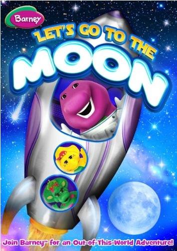 barney moon dvd