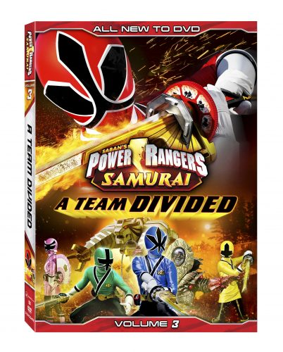 power rangers samurai team