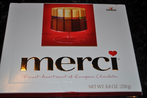 merci chocolaté