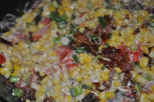 Recipe: Slow Cooker Chive-and-Onion Bacon Creamed Corn