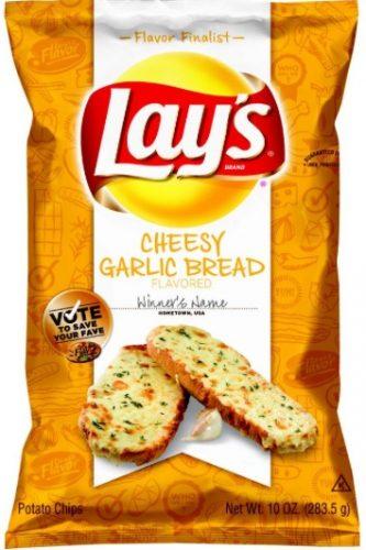 lays cheesy garlic bread