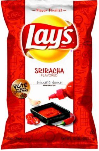 lays siracha chips