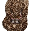 Lollipop Leopard Toddler Car Seat Cover