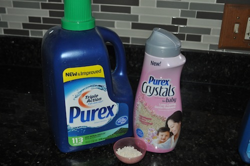purex detergent and crystals