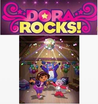 dora rocks logo