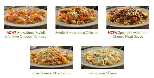 Mezzaluna Ravioli With Five Cheese Marinara