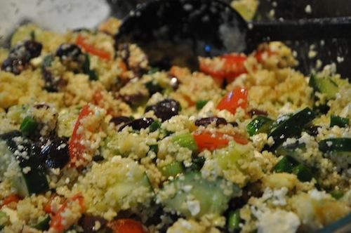 Recipe: Mediterranean Couscous Salad