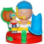 caillou bath time set