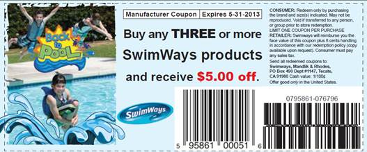 swimways coupon