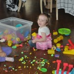 Wordless Wednesday: Fun With Play-Doh