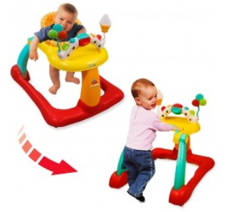 Kolcraft Tiny Steps 2 In 1 Walker Review Mom And More