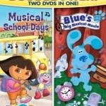 """DVD Review: """"Dora & Blue's Clues Double Feature"""""""