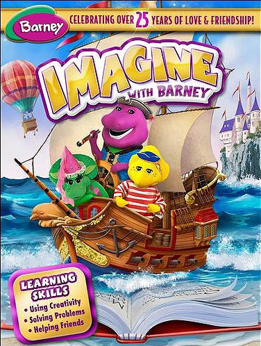 "DVD Review: ""Imagine With Barney"""