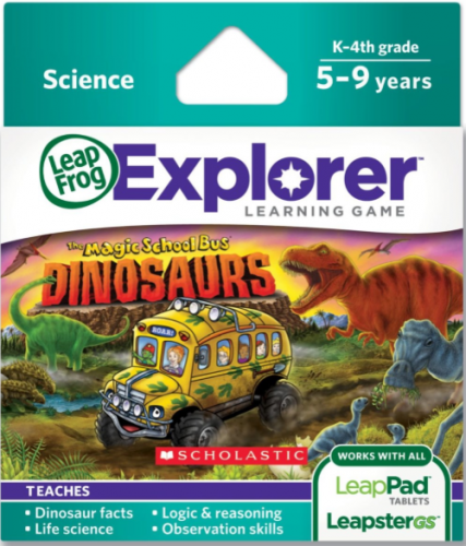 LeapFrog Game: The Magic School Bus Dinosaurs {Review}