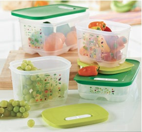 Tupperware FridgeSmart® Containers are containers built to keep your ...