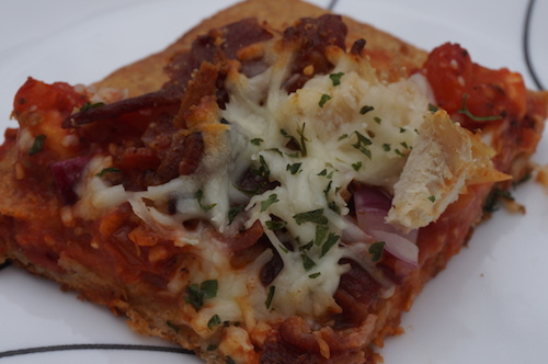 Recipe: Chicken Bacon Pizza