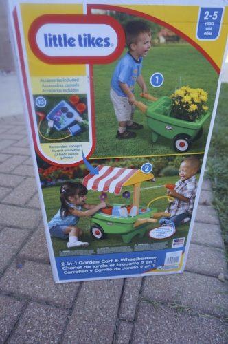 Little Tikes 2-in-1 Garden Cart & Wheelbarrow