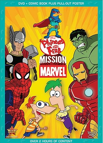 "DVD Review: ""Phineas And Ferb: Mission Marvel"""