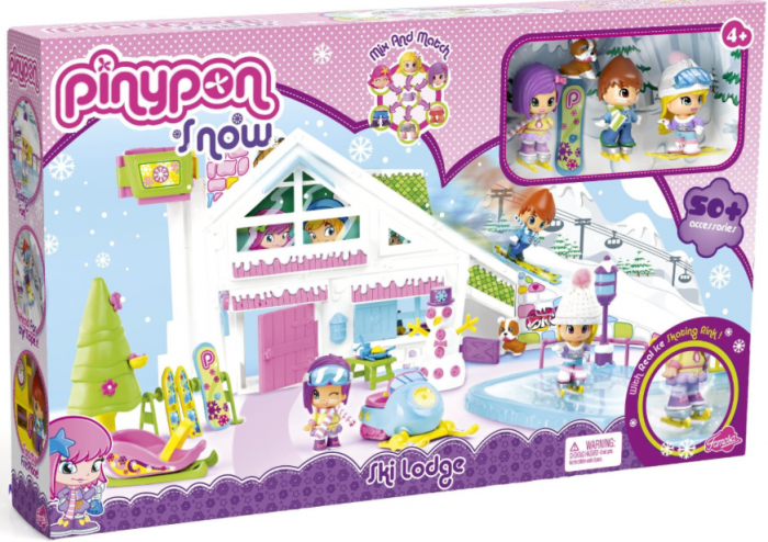 Pinypon Snow House Play Set {Review}