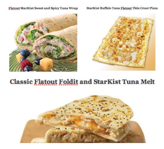 starkist tuna flatout