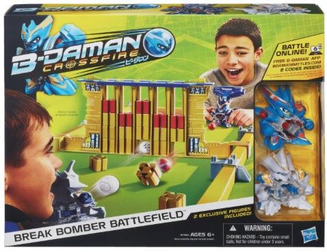 B-Daman Crossfire Break Bomber Battlefield Set {Review}
