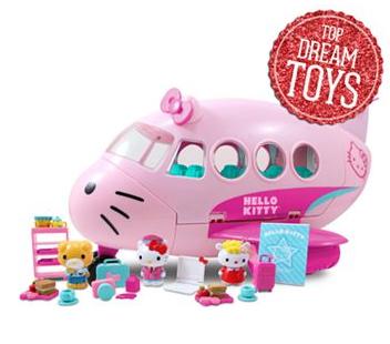 hello kitty airplane set