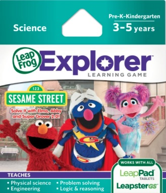 LeapFrog Explorer Learning Game: Sesame Street {Review}