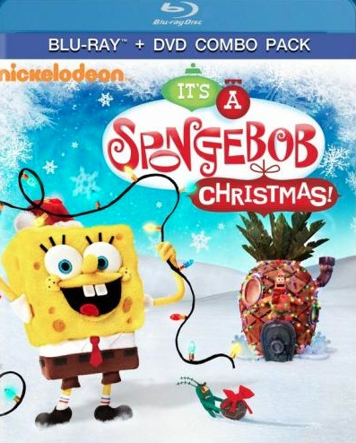 """SpongeBob SquarePants: It's A SpongeBob Christmas!"" is Now on Blu-ray!"