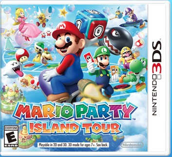 mario party island tour ds
