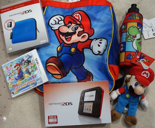 nintendo 2ds prize pack