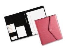 pink roledex padfolio