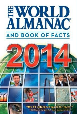 """Book Review: """"World Almanac and Book of Facts 2014"""""""