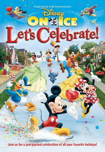 """Disney On Ice presents Let's Celebrate!"" is Coming to Chicago! #ChiDisneyOnIce"