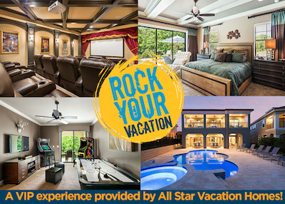 Rock Your Kissimmee, Florida Vacation! – Win a VIP getaway for you and five friends! #RockYourVacation