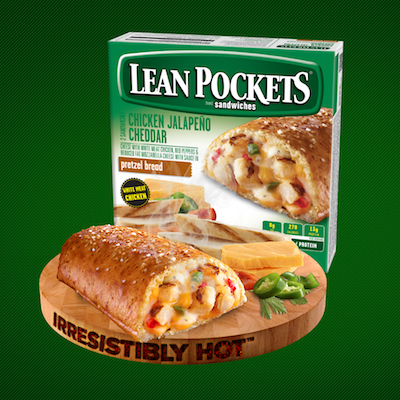 Lean Pockets ChickenJalapeno