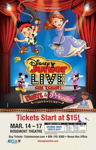 """Disney Junior Live On Tour! """"Pirate & Princess Adventure"""" {Chicago Review}"""