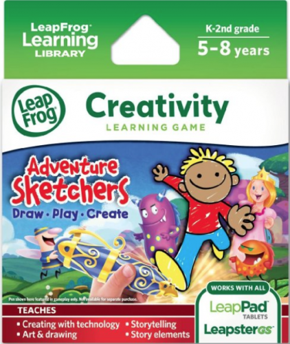 leapfrog adventure sketchers game